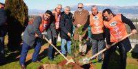 Kahramanmaraş'ta Hayrettin Karaca adına ağaç dikildi