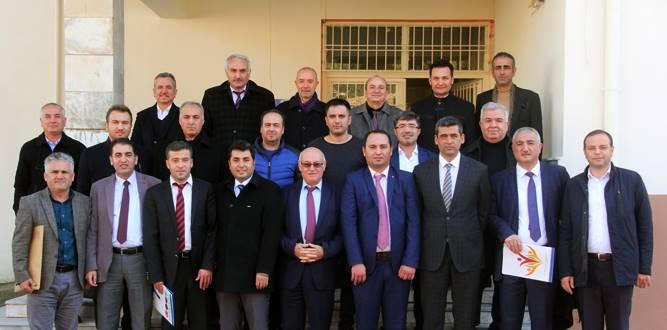 İlçe Hayat Boyu Toplantısı Türkoğlu'nda Yapıldı