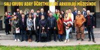 Onikişubat Salı Grubu Aday Öğretmenleri Arkeoloji Müzesini Gezdi