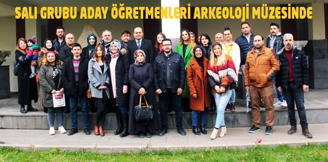 Aday Öğretmenler Kahramanmaraş Müzesini Gezdi