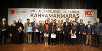 100. Yılı kutlama etkinlikleri kapsamında dereceye girenlere ödüller verildi