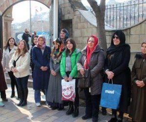 Kahramanmaraş'ta Aday Öğretmenleri Pazartesi Grubuna Ulu Cami tanıtıldı