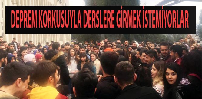 KSÜ-Karacusu Öğrencilerinden Boykot