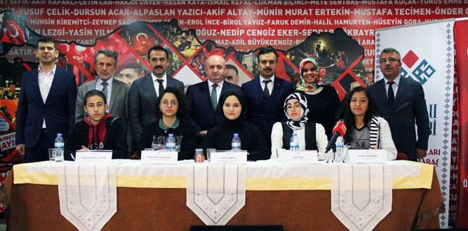 """Anadolu Mektebi """"Sezai Karakoç"""" Paneli Yapıldı"""