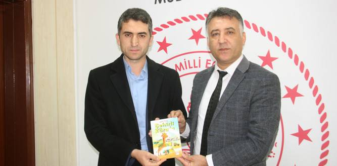 Eğitimci Yazar Fatih Yıldız Onikişubat İlçe MEM'i Ziyaret Etti