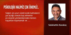 PSİKOLOJİK HALİMİZ ÇOK ÖNEMLİ!..