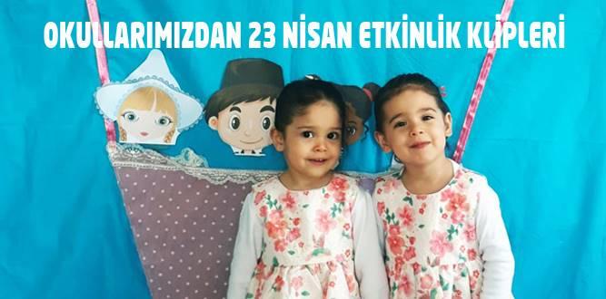 Dulkadiroğlu'nda Okul Öncesinin 23 Nisan Etkinlikleri