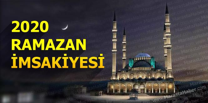 Gaziantep 2020 ramazan imsakiye iftar vakti ve sahur saati