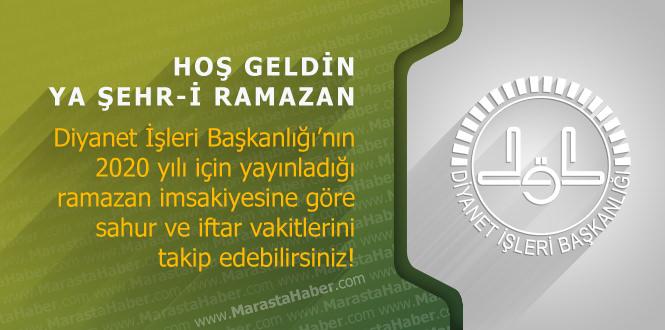 Yozgat ve ilçeleri 2020 ramazan imsakiye – Diyanet imsakiyesi namaz, iftar vakti ve sahur saati kaçta