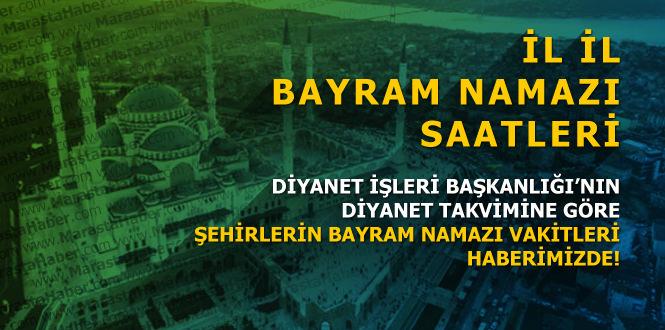 Adana bayram namazı saat kaçta ? İl İl Ramazan bayram namazı saatleri