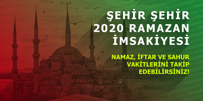 Çorum imsakiye 3 Mayıs 2020 Diyanet ramazan iftar vakti ve sahur saati ne kadar kaldı