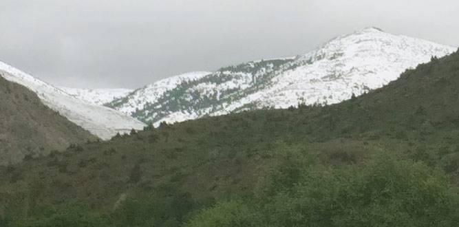 Kahramanmaraş'a Mayıs Ayında Kar Yağdı
