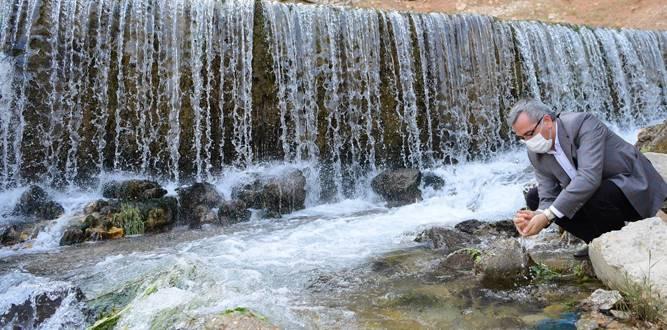 """Başkan Güngör: """"Aksu Nehri'nin kaynağında peyzaj düzenlemesi yapacağız"""""""