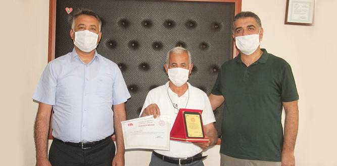Okul Müdürü Mustafa Paksoy Emekli Oldu (FOTOĞRAFLAR)