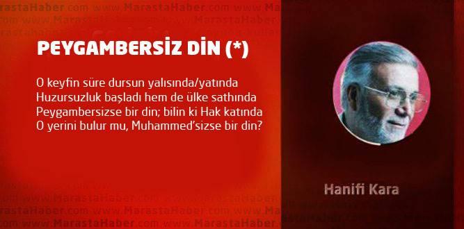 PEYGAMBERSİZ DİN (*)