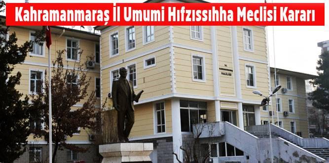 Kahramanmaraş'ta Sokağa Çıkma Yasağının Kapsamı