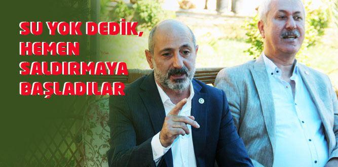 Milletvekili Ali Öztunç'tan Basın Açıklaması