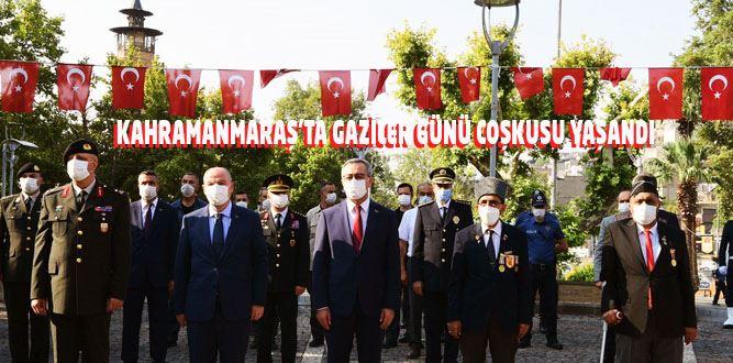 Kahramanmaraş'ta Gaziler Günü Coşkusu