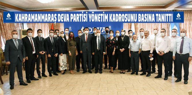 DEVA Partisi DEV Kadrosunu Basınla Buluşturdu