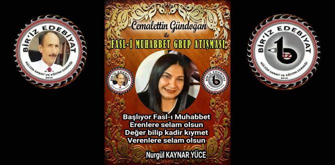 Biriz Edebiyat Cemalettin Gündoğan İle Fasl-ı Muhabbet Grup Atışması 1