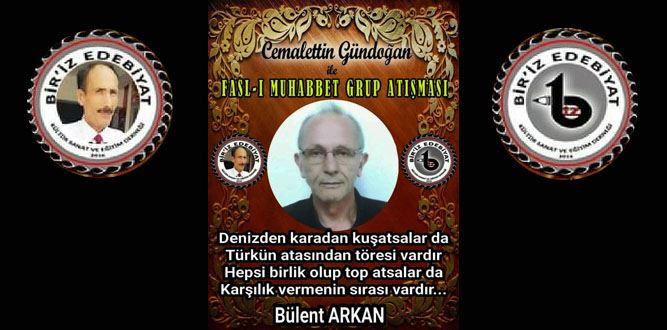 Biriz Edebiyat Cemalettin Gündoğan İle Fasl-ı Muhabbet Grup Atışması 3