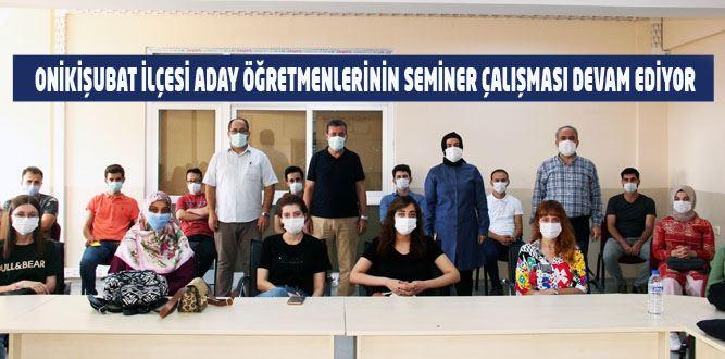 Kahramanmaraş'ta Aday Öğretmenlere Seminer