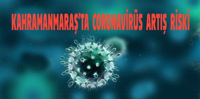 Kahramanmaraş'ta Coronavirüs Artışı Risk Taşıyor