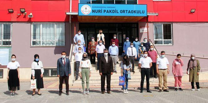 Kahramanmaraş'ta Nuri Pakdil'e Vefa Ödül Töreni