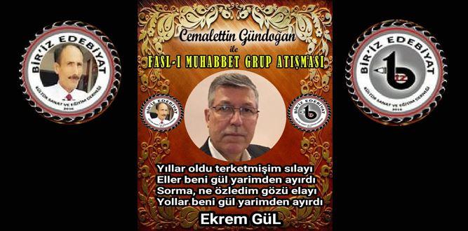 Biriz Edebiyat Cemalettin Gündoğan İle Fasl-ı Muhabbet Grup Atışması 8