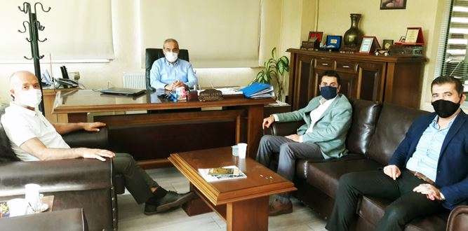 KMESOB Başkan Yardımcısı Mehmet Geçkil'e Ziyaret
