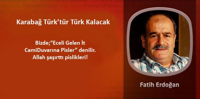Karabağ Türk'tür Türk Kalacak