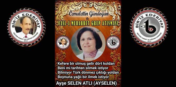Biriz Edebiyat Cemalettin Gündoğan İle Fasl-ı Muhabbet Grup Atışması 10