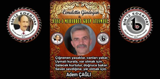 Biriz Edebiyat Cemalettin Gündoğan İle Fasl-ı Muhabbet Grup Atışması 12