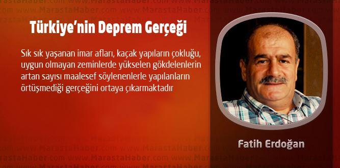 Türkiye'nin Deprem Gerçeği