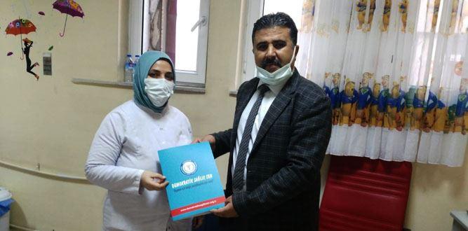 Demokratik Sağlık Sen Afşin ilçe başkanlığına atama yapıldı!