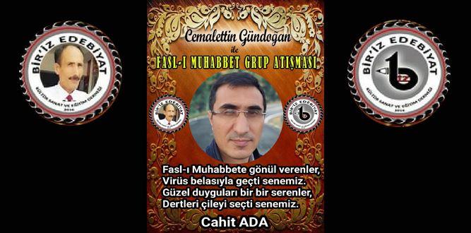 Biriz Edebiyat Cemalettin Gündoğan İle Fasl-ı Muhabbet Grup Atışması 16