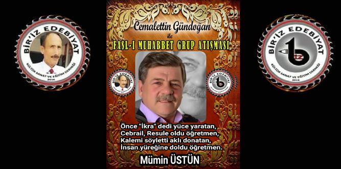Biriz Edebiyat Cemalettin Gündoğan İle Fasl-ı Muhabbet Grup Atışması 13
