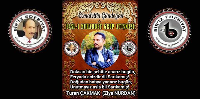 Biriz Edebiyat Cemalettin Gündoğan İle Fasl-ı Muhabbet Grup Atışması 17