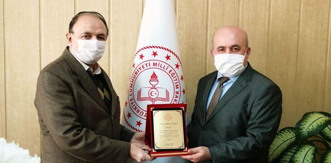 Millî Eğitim Şefi Şaban Avşar'a Veda Töreni