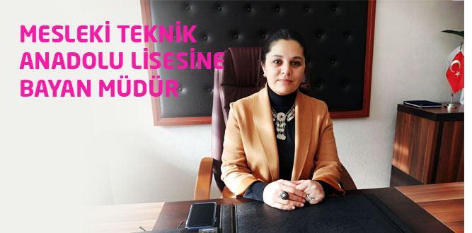 Mesleki ve Teknik Anadolu Lisesine Bayan Müdür