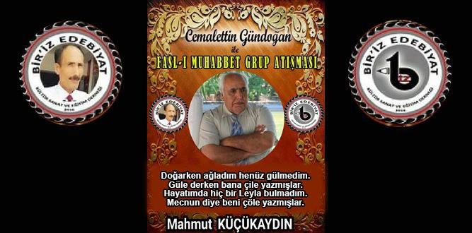 Biriz Edebiyat Cemalettin Gündoğan İle Fasl-ı Muhabbet Grup Atışması 18