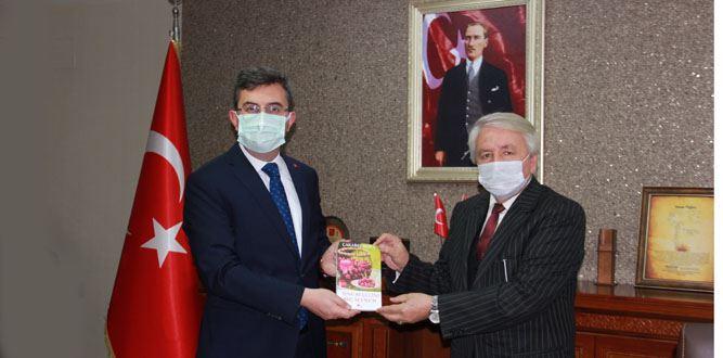Kaymakam Serkan Keçeli'ye Ziyaret