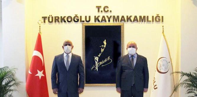Kaymakam Hersanlıoğlu'na Ziyaret