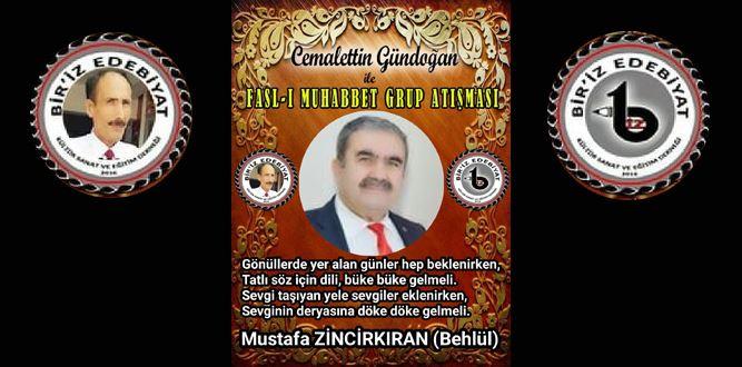 Biriz Edebiyat Cemalettin Gündoğan İle Fasl-ı Muhabbet Grup Atışması 19