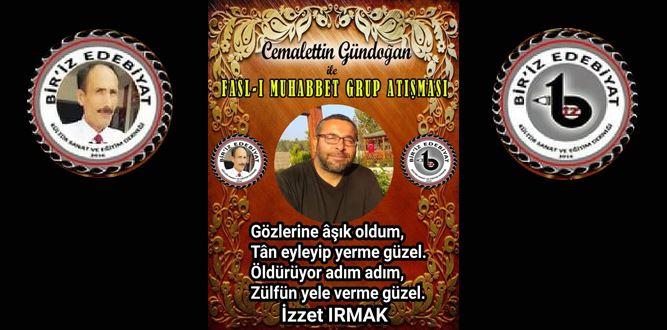 Biriz Edebiyat Cemalettin Gündoğan İle Fasl-ı Muhabbet Grup Atışması 22