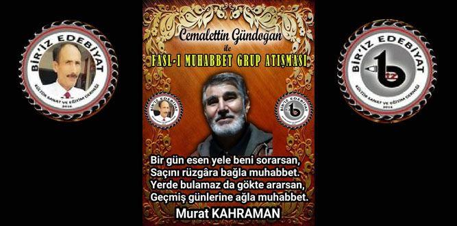 Biriz Edebiyat Cemalettin Gündoğan İle Fasl-ı Muhabbet Grup Atışması 25