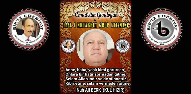 Biriz Edebiyat Cemalettin Gündoğan İle Fasl-ı Muhabbet Grup Atışması 24