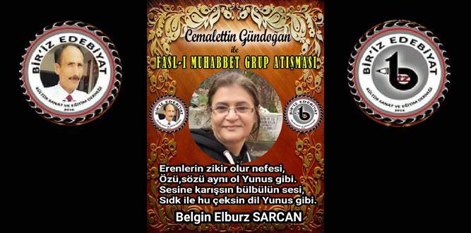Biriz Edebiyat Cemalettin Gündoğan İle Fasl-ı Muhabbet Grup Atışması 26