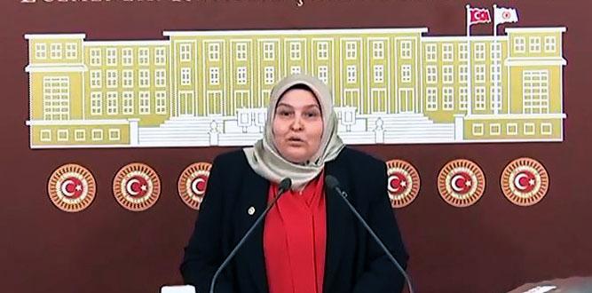 """Milletvekili Öçal'ın """"PKK Terörü ve Kadın"""" konulu konuşması"""
