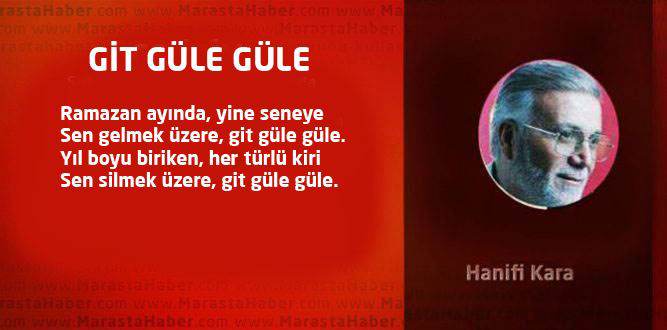 GİT GÜLE GÜLE
